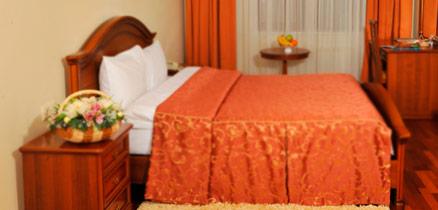 Двухместный стандарт в гостинице Краснодара